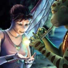 La principessa Kyla e Delgo in un'immagine del film Delgo