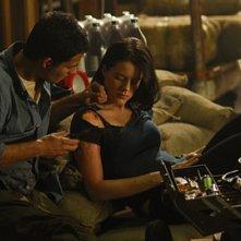 Michelle Ryan in un momento dell'episodio Confronto diretto di Bionic Woman