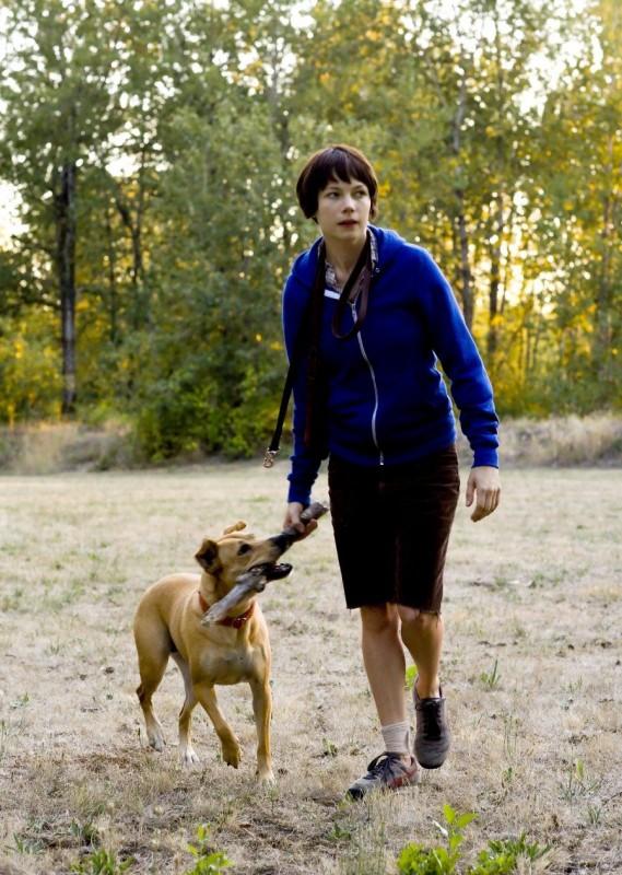 Michelle Williams è la protagonista del film Wendy and Lucy