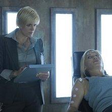Molly Price in un momento dell'episodio Confronto diretto di Bionic Woman