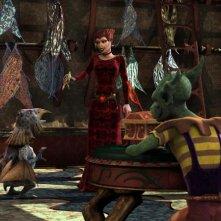 Un'immagine del film Delgo