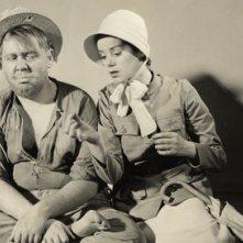 Charles Laughton e sua moglie Elsa Lanchester