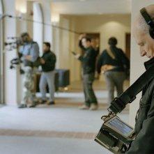 Il regista Salvatore Maira sul set del film Valzer