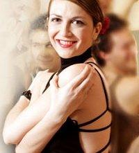 Un'immagine dell'attrice Giorgia Cardaci