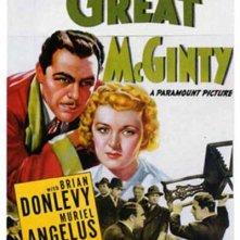 La locandina di Il grande McGinty