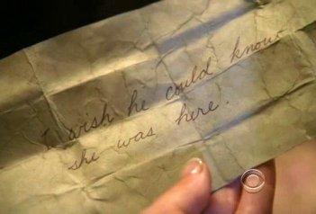 Ghost Whisperer: una immagine dell'episodio Pieces of You (quarta stagione)