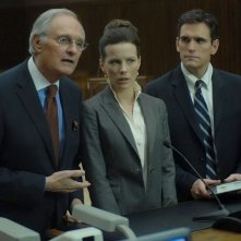 Alan Alda, Kate Beckinsale e Matt Dillon in una scena del film Nothing but the Truth