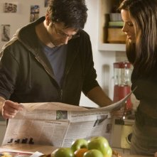 David Schwimmer e Kate Beckinsale in un'immagine del film Nothing but the Truth