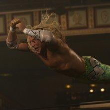 Mickey Rourke è il protagonista del film The Wrestler