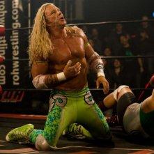 Mickey Rourke in un'immagine del film The Wrestler