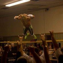 Mickey Rourke in un'immagine di The Wrestler