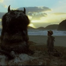 Una suggestiva immagine di  Where the Wild Things Are