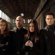 Il cast della serie Il bene e il male in una foto promozionale
