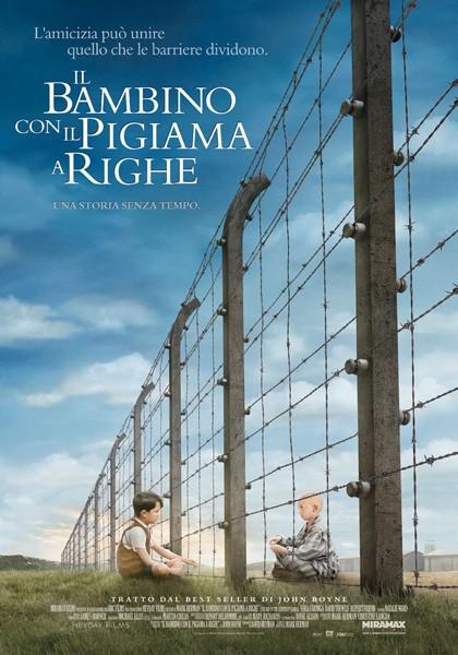 La Locandina Italiana De Il Bambino Con Il Pigiama A Righe 99833