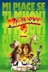 La locandina italiana di Madagascar 2