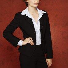 Stana Katic in una foto promozionale della serie Caslte