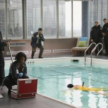 Una foto di scena del pilot della serie TV Castle