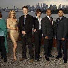 Una foto promozionale del cast della serie TV della ABC Castle