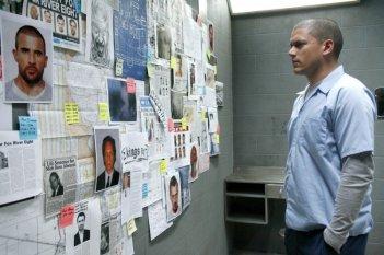 Wentworth Miller in una scena dell'episodio Going Under di Prison Break