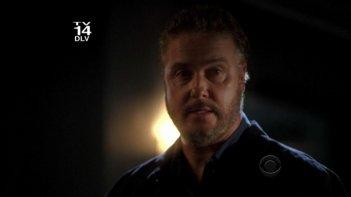 William Petersen in un momento dell'episodio ' 19 Down ' della serie CSI