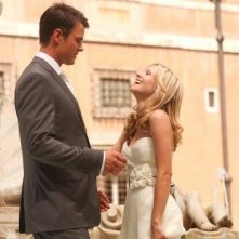 Josh Duhamel e Kristen Bell a passeggio in When in Rome