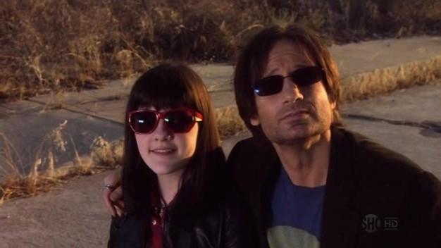 Madeleine Martin E David Duchovny In Una Scena Dell Episodio La Petite Mort Di Californication 100046