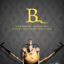 Uno degli 'Alphabet Poster' del film Coraline e la porta magica - Lettera B