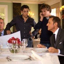 Massimo Ghini, Vittorio Emanuele Propizio, Ludovico Fremont e Christian De Sica in un'immagine del film Natale a Rio