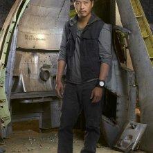 Una foto promozionale di Ken Leung per la quinta stagione di Lost