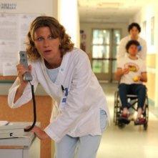 Angela Finocchiaro in una scena del film tv Dottor Clown