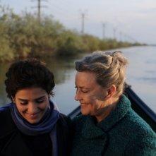 Dorotheea Petre e Ilaria Occhini in un'immagine di Mar Nero