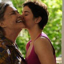 Dorotheea Petre e Ilaria Occhini in una scena di Mar Nero