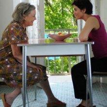Ilaria Occhini e Dorotheea Petre in un'immagine del film Mar Nero