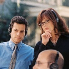 Ioan Gruffudd e Sigourney Weaver in The TV set