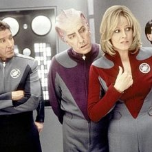 Sigourney Weaver, Tim Allen e Alan Rickman in Galaxy Quest