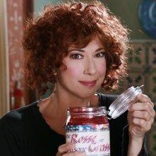 Veronica Pivetti nel ruolo di Beniamina Volò, simpatica aspirante Befana nel film tv miacarabefana.it
