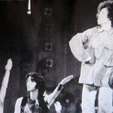 1970: Giselda Castrini con Teo Teocoli nel musical Hair al Teatro Sistina di Roma