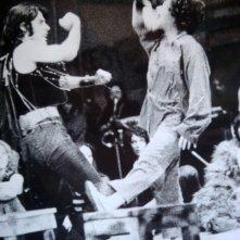 1970: Giselda Castrini e Teo Teocoli nel musical Hair (prima edizione italiana)
