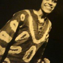 1970: una sorridente Giselda Castrini nel musical Hair al Teatro Sistina di Roma