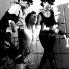 Ottaviano Blitch in una scena del video No Fun