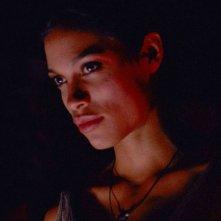 Rosario Dawson in una sequenza del film Extrema - Al limite della vendetta