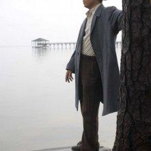 Brad Pitt in una sequenza de Il curioso caso di Benjamin Button
