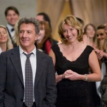 Dustin Hoffman ed Emma Thompson in un'immagine del film Last Chance Harvey