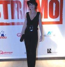 Giorgia Cardaci in occasione della presentazione del film Ti Stramo