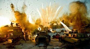 Spettacolari esplosioni in Transformers - La vendetta del caduto