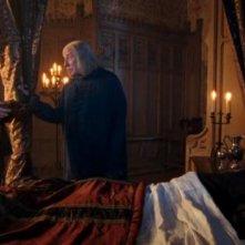 Colin Morgan, Richard Wilson e Anthony Head in Rimedio per curare tutti i mali, episodio di Merlin.