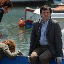 Augusto Fornari in una scena della serie tv Il commissario Manara