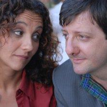 Lucia Ocone ed Augusto Fornari nella serie tv Il commissario Manara