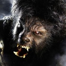 Una terrificante immagine di The Wolf Man