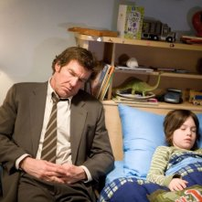 Dennis Quaid e Liam James in una scena del film The Horsemen